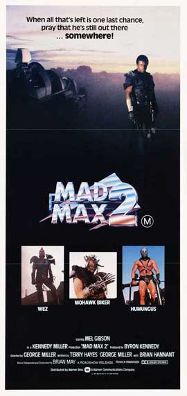 Mad Max 2: The Road Warrior - 13 x 30 Movie Poster - Australian Style A