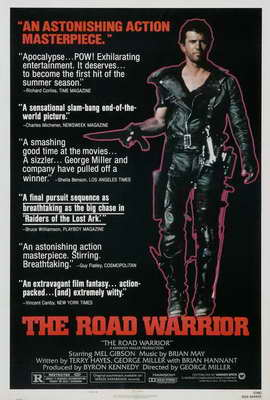 Mad Max 2: The Road Warrior - 27 x 40 Movie Poster - Style C