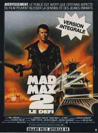 Mad Max 2: The Road Warrior - 11 x 17 Movie Poster - French Style A