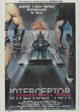 Mad Max 2: The Road Warrior - 11 x 17 Movie Poster - Italian Style A