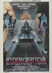 Mad Max 2: The Road Warrior - 27 x 40 Movie Poster - Italian Style A