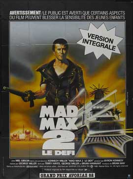 Mad Max 2: The Road Warrior - 27 x 40 Movie Poster - French Style B