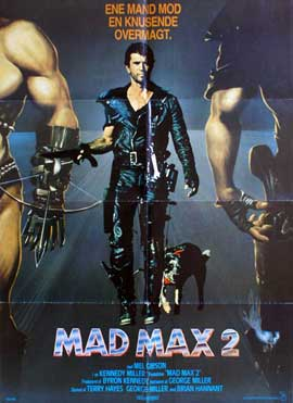 Mad Max 2: The Road Warrior - 11 x 17 Movie Poster - Danish Style A