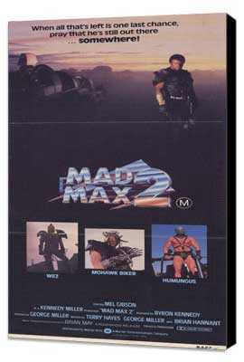 Mad Max 2: The Road Warrior - 11 x 17 Movie Poster - Style D - Museum Wrapped Canvas