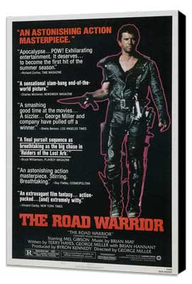 Mad Max 2: The Road Warrior - 27 x 40 Movie Poster - Style C - Museum Wrapped Canvas