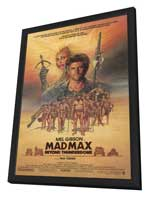 Mad Max: Beyond Thunderdome - 27 x 40 Movie Poster - Style A - in Deluxe Wood Frame