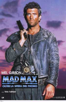Mad Max: Beyond Thunderdome - 11 x 17 Movie Poster - Italian Style A
