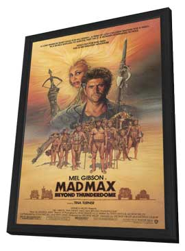 Mad Max: Beyond Thunderdome - 11 x 17 Movie Poster - Style A - in Deluxe Wood Frame