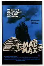 Mad Max - 27 x 40 Movie Poster - Australian Style A