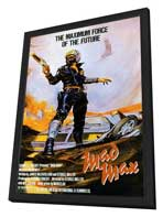 Mad Max - 27 x 40 Movie Poster - Style A - in Deluxe Wood Frame