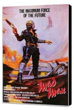 Mad Max - 11 x 17 Movie Poster - Style A - Museum Wrapped Canvas