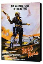 Mad Max - 27 x 40 Movie Poster - Style A - Museum Wrapped Canvas
