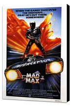 Mad Max - 27 x 40 Movie Poster - UK Style A - Museum Wrapped Canvas
