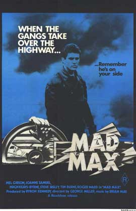 Mad Max - 11 x 17 Movie Poster - Australian Style A