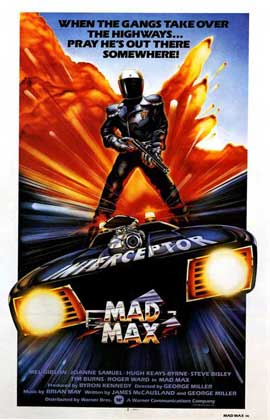Mad Max - 11 x 17 Movie Poster - UK Style A