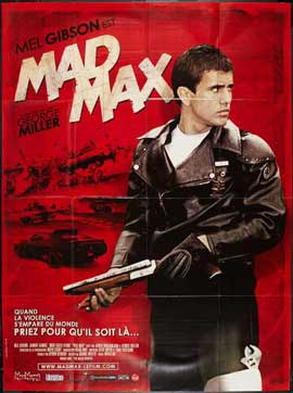 Mad Max - 27 x 40 Movie Poster - French Style B