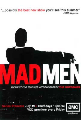 Mad Men - 11 x 17 TV Poster - Style A