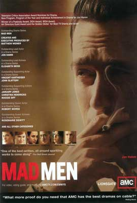Mad Men - 27 x 40 TV Poster - Style A