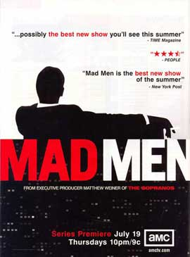 Mad Men - 11 x 17 TV Poster - Style I