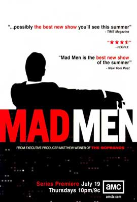 Mad Men - 27 x 40 Movie Poster