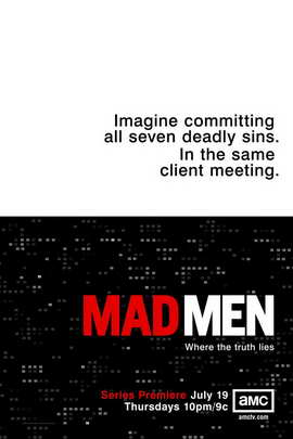 Mad Men - 11 x 17 TV Poster - Style F