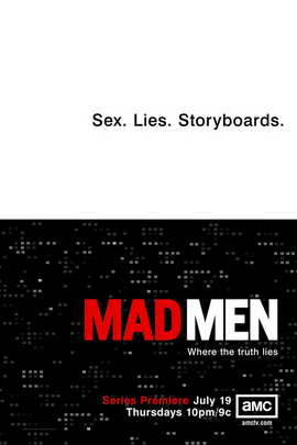 Mad Men - 11 x 17 TV Poster - Style G