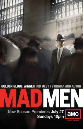 Mad Men - 11 x 17 TV Poster - Style H