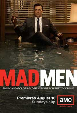 Mad Men - 11 x 17 TV Poster - Style J