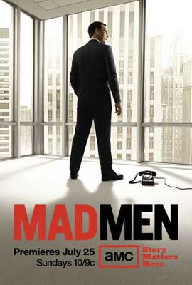 Mad Men - 11 x 17 TV Poster - Style M