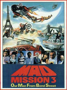 Mad Mission: Our Man from Bond Street - 11 x 17 Movie Poster - Danish Style A