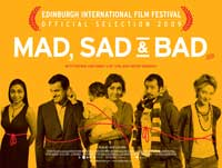 Mad Sad & Bad - 43 x 62 Movie Poster - UK Style A