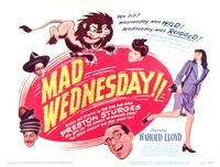 Mad Wednesday - 11 x 14 Movie Poster - Style A