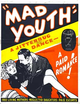Mad Youth - 27 x 40 Movie Poster - Style B