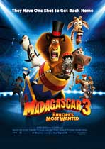 Madagascar 3 - 43 x 62 Movie Poster - Bus Shelter Style B