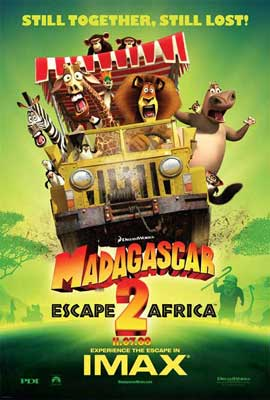 Madagascar: Escape 2 Africa - 11 x 17 Movie Poster - Style F