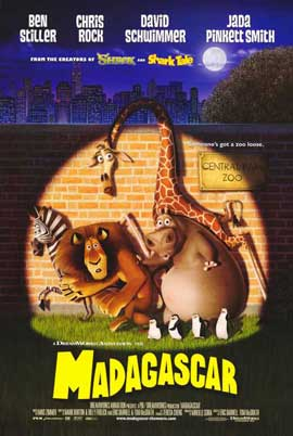 Madagascar - 11 x 17 Movie Poster - Style E