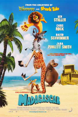 Madagascar - 11 x 17 Movie Poster - Style F