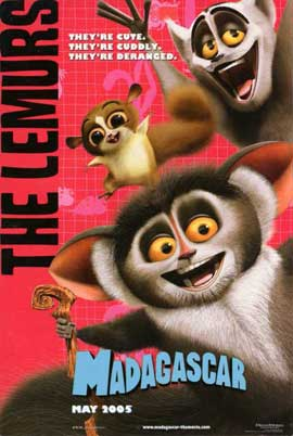 Madagascar - 11 x 17 Movie Poster - Style H