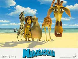 Madagascar - 11 x 14 Poster French Style H
