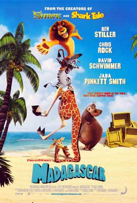 Madagascar - 27 x 40 Movie Poster - Style D