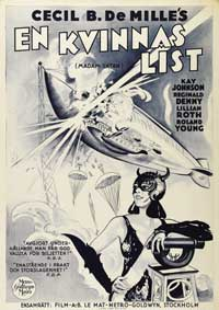 Madam Satan - 11 x 17 Movie Poster - Swedish Style A