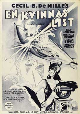 Madam Satan - 27 x 40 Movie Poster - Swedish Style A