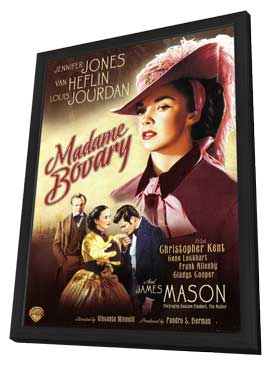 Madame Bovary - 11 x 17 Movie Poster - Style A - in Deluxe Wood Frame