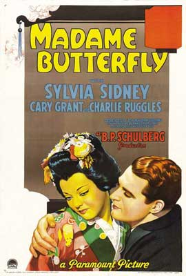 Madame Butterfly - 27 x 40 Movie Poster - Style A