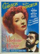 Madame Curie - 11 x 17 Movie Poster - Belgian Style A