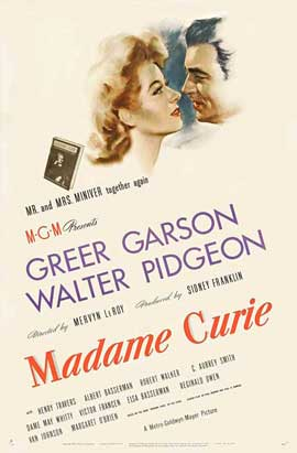 Madame Curie - 27 x 40 Movie Poster - Style A