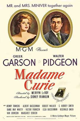 Madame Curie - 27 x 40 Movie Poster - Style B