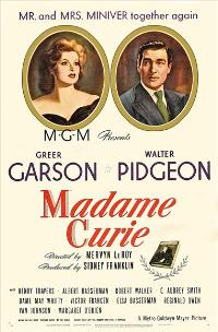 Madame Curie - 11 x 17 Movie Poster - Style B
