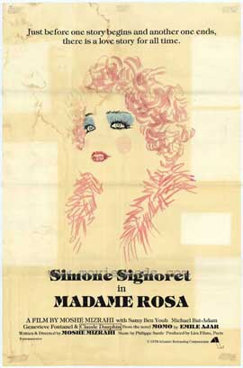 Madame Rosa - 11 x 17 Movie Poster - Style A