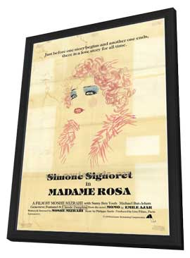 Madame Rosa - 11 x 17 Movie Poster - Style A - in Deluxe Wood Frame
